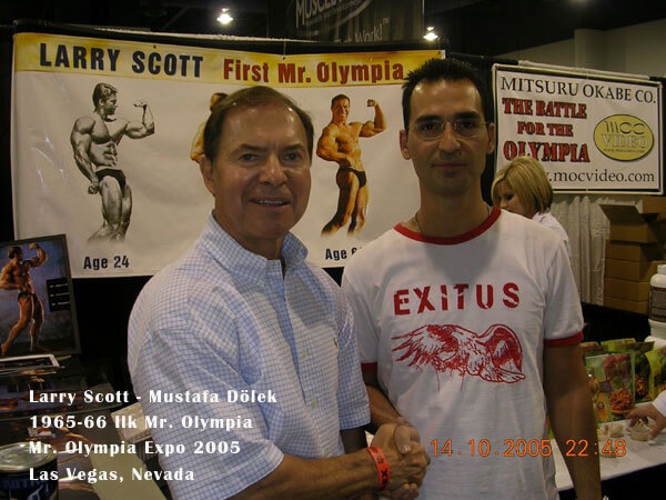 Larry Scott - İlk Mr. Olympia
