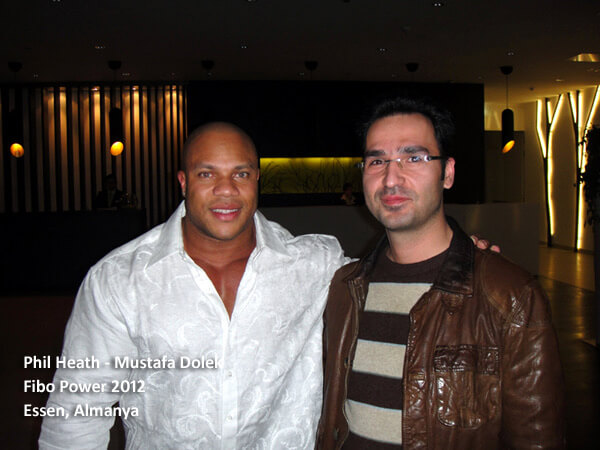 Mr Olympia Phil Heath