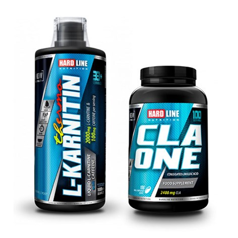 Hardline L-Karnitin Thermo 1000ml+ Cla One 100 Kapsül