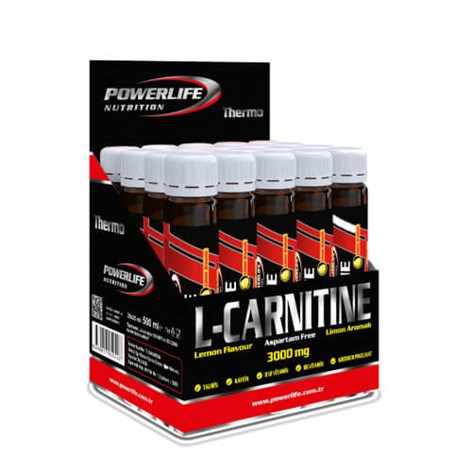 Powerlife L-Carnitine 3000 mg 20 AmpulGC01034