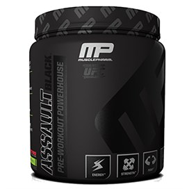 Musclepharm Assault Black Pre-Workout 444 gr