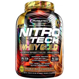 Muscletech Nitrotech Whey Gold Protein Tozu 2270 Gr