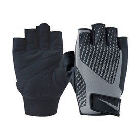Nike Mens Core Lock Training Gloves Fitness Eldiveni Gri