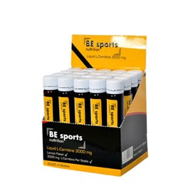 .BE Sports L-Carnitine 3000mg 20 Ampul
