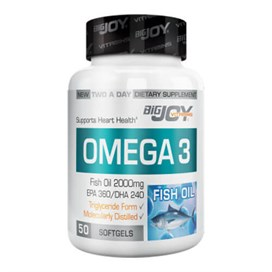 Bigjoy Vitamins Omega-3 50 Softgel