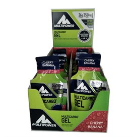 Multipower Carbo Gel 40 gr x 24Enerji