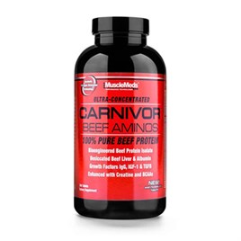MuscleMeds Carnivor Beef Aminos 300 Tablet