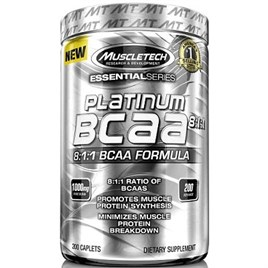 Muscletech Platinum Series BCAA 8:1:1 200 Tablet