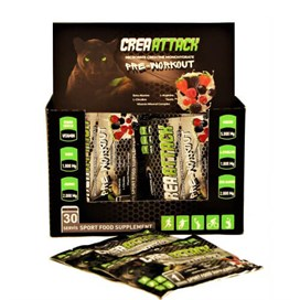 Powerlife CreaAttack Pre-Workout 30 Saşe