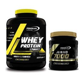 .Powerlife Whey Protein 2025 gr + Amino 7000 300 Tablet