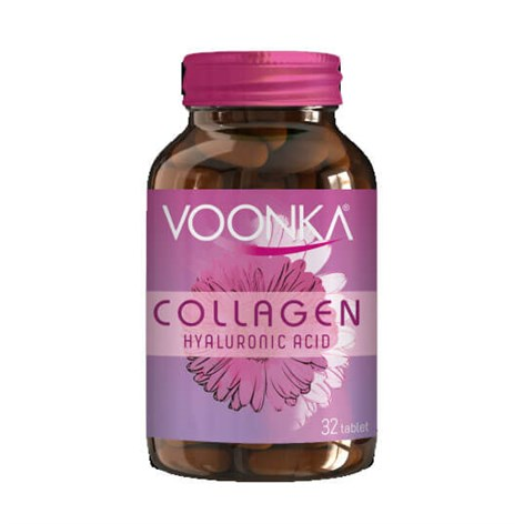 Voonka Collagen Hyaluronic Acid 32 TabletVoonkaCollagenHyaluronic